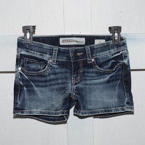 BKE womens shorts size 25